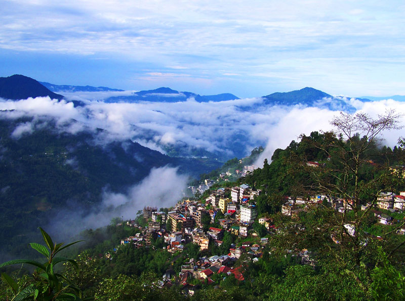 Gangtok, capital town of Sikkim | tourist places in Sikkim