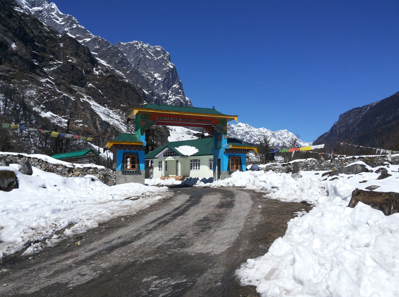 Lachung in North Sikkim | Lachung Monastery