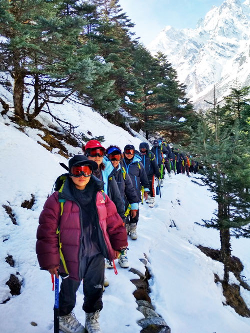 Mountaineering, Sikkim | adventure activities in Sikkim