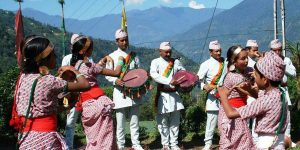 dance & music of Sikkim, culture of sikkim