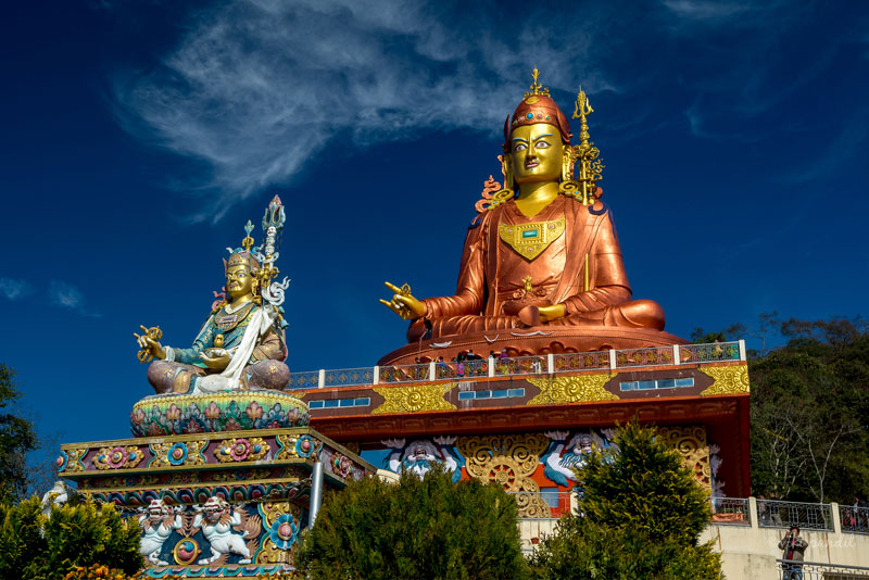 Samdruptse Hill in Namchi | pilgrimage places in Sikkim