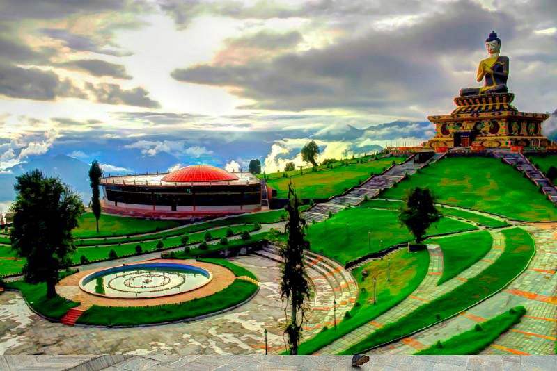 Buddha Park of Ravangla | pilgrimage places in Sikkim