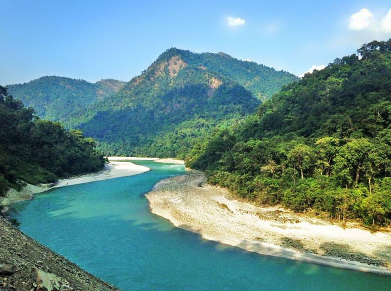 Teesta River, Sikkim | Lakes in Sikkim